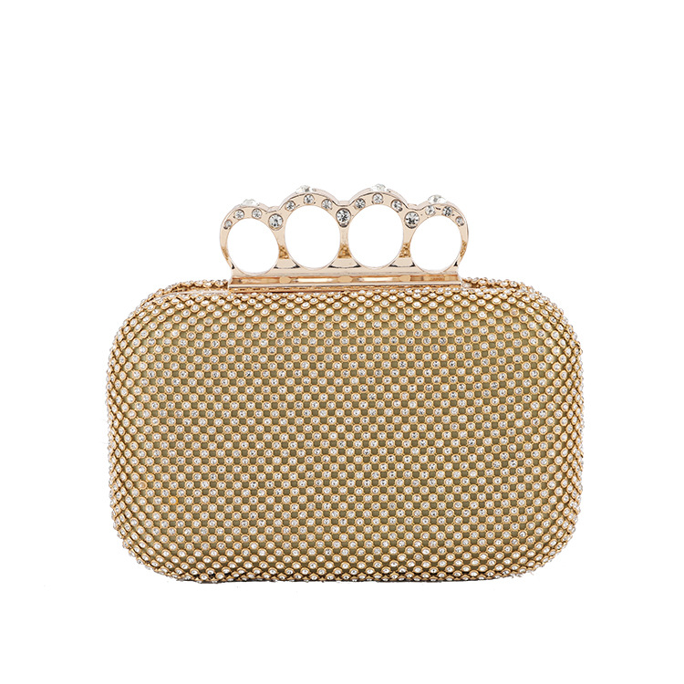 Famous Crown Rhinestone Evening bag Luxury Designer Handbag for Lady Clutch Shoulder bag Fashion Chain Wedding Cross body bag