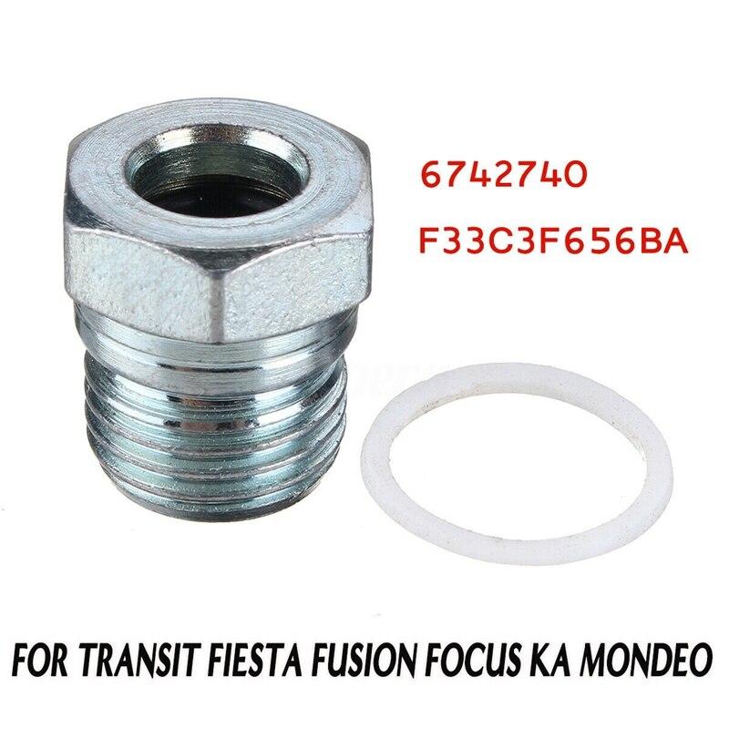 Motor Bajo Bandeja De Metal Tuerca Perno Torx Tornillos de Montaje para Ford Focus Fiesta X 10