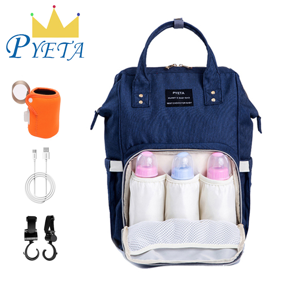 Mummy Backpack Handbag Tote Shoulder Bags Multifunction Baby Nappy Diaper Bag Y