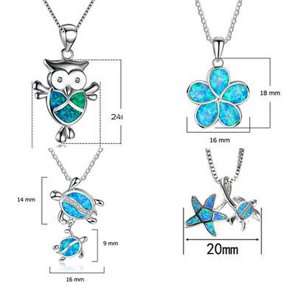 1PCS-Silver-Filled-Blue-Opal-Sea-Turtle-Cutout-Pendant-Women-Necklace-Beach-Gift (2)