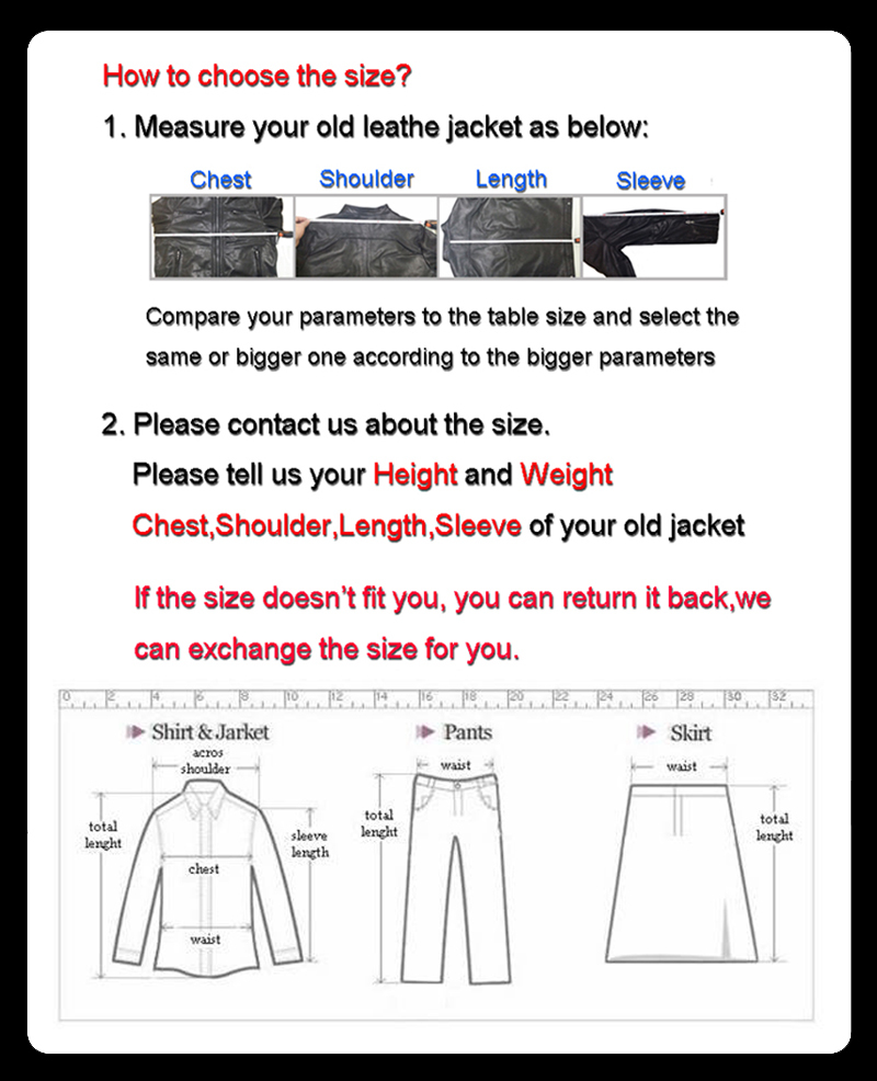 3 how to choose the size 2
