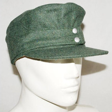 WWII WW2 German Elite EM WH Wool Panzer M43 Field Soldier Cap Hat Army Green in size