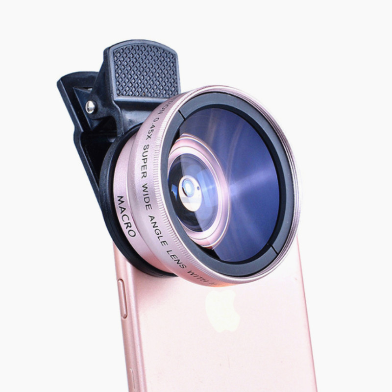 Macro Lens Phone Wide-Angle Xiaomi Samsung 6s-Plus HD LG for 8 7 Professional title=
