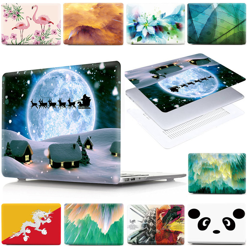 Christmas Collection Prints 13.3 Laptop Cover For Macbook Pro Retina 12 13 15 Air 11 Air 13 A2020 A2179 Air 13 A1466 A1369 Case