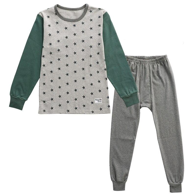 New Teens Clothes Kids Clothing Set Big Boy Girl Pajamas Sets Girls Boys Cotton Sleepwear Full Sleeve Pyjamas Kids Home Clothes