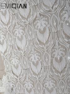 Flower Lace-Fabric W...