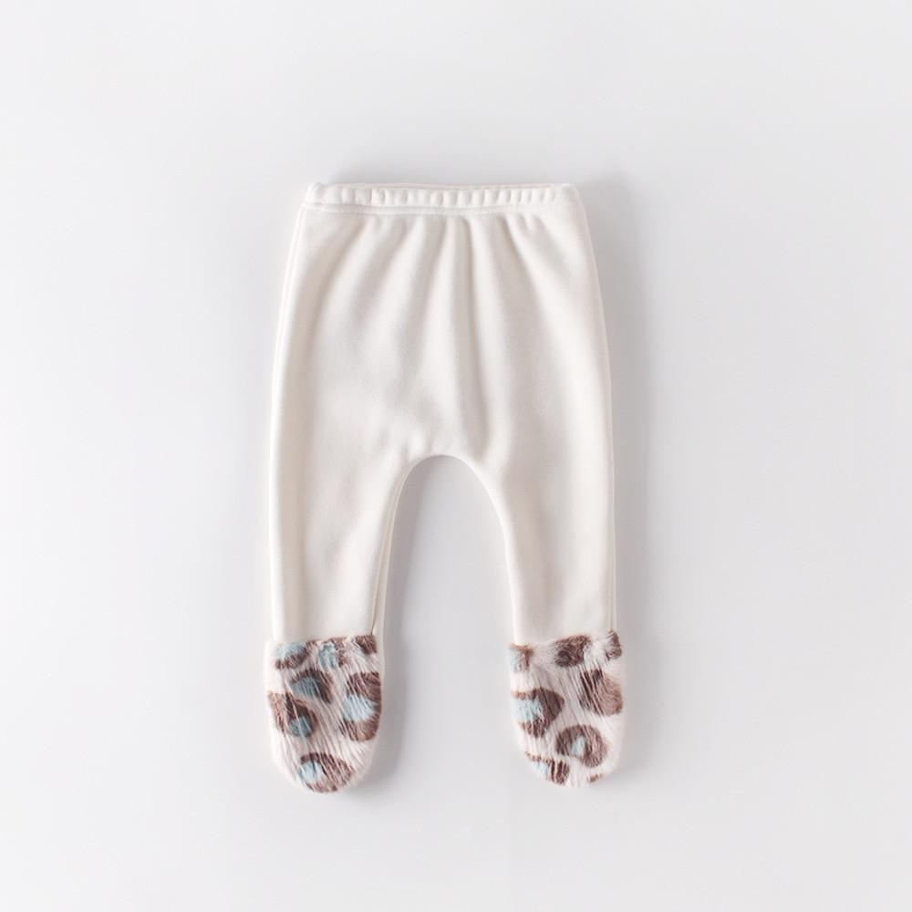 2019 New Arrival Girls Thicken Leggings Autumn Winter Fashion Baby Kids Girls Long Pants 0-2T