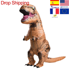 Inflatable-Costume Animal-Jumpsuit Mascot Cosplay Birthday-Gift T-REX Adult Anime Child