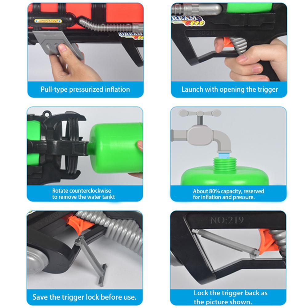Tool - High Pressure Large Capacity Water Gun Toy; Play Gifts For Boys Girls Adults