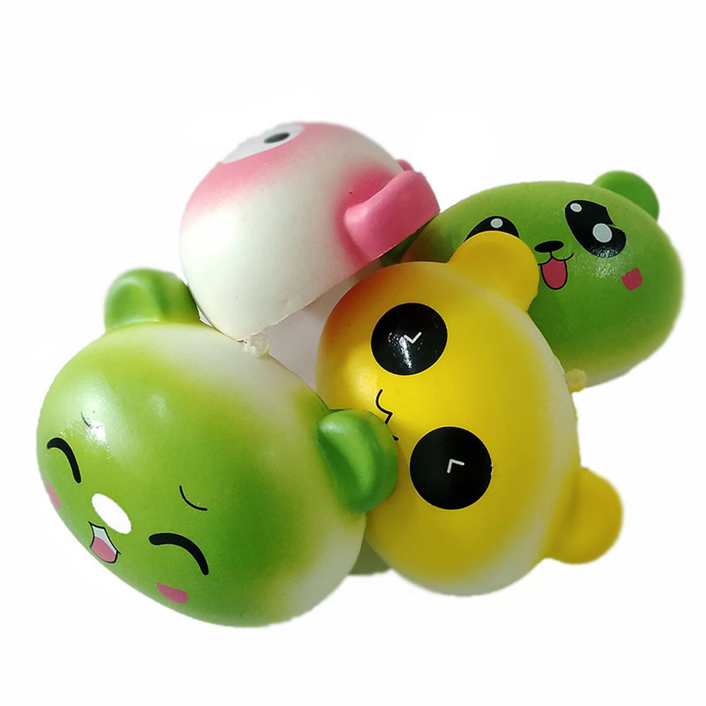 New cartoon animal face Slow Rising Collection Squeeze Stress Reliever Toy Antistress Gadgets Squeeze Kid Adult Toys Gift #A