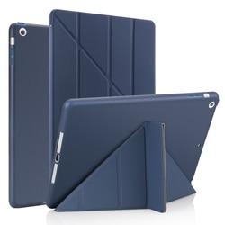 Для Ipad Air 2 /Air 1 Smart Case 5 форм подставка тонкий PU кожаный чехол мягкий чехол для iPad 9,7 2017/2018 5/6 th Auto Sleep/Wake up