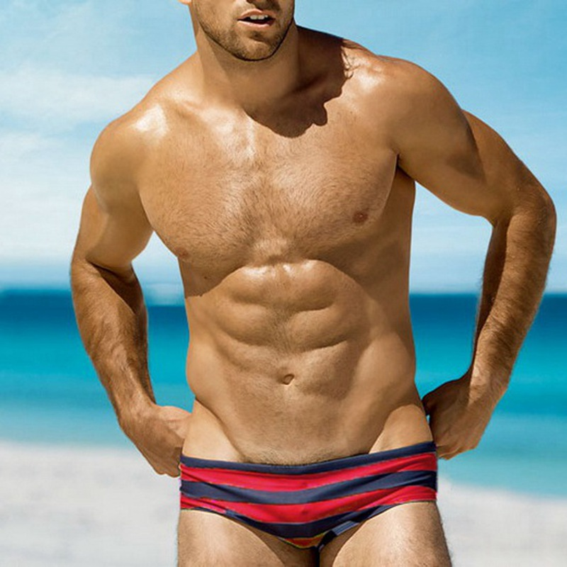 Austinbem Bikini Swimwear Men Swim Briefs Mens Swimmsuit Swimming Suit Beach Surfing Water Sport Wear Man Bath Short XX-434