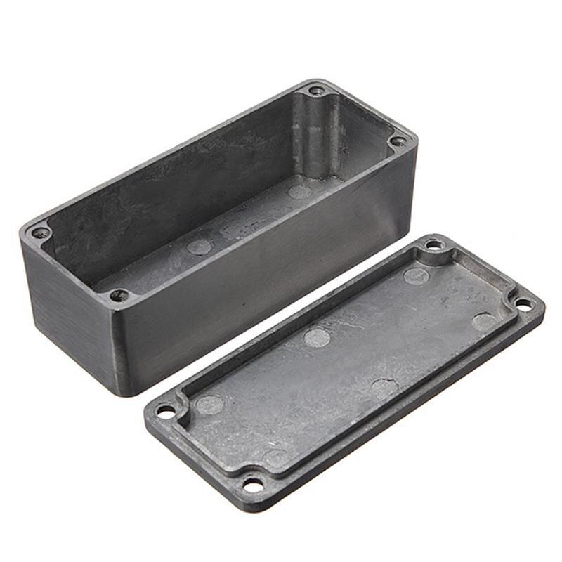 Genuine Hammond Diecast//carcasa de pedal de efectos Aluminio Varios Colores