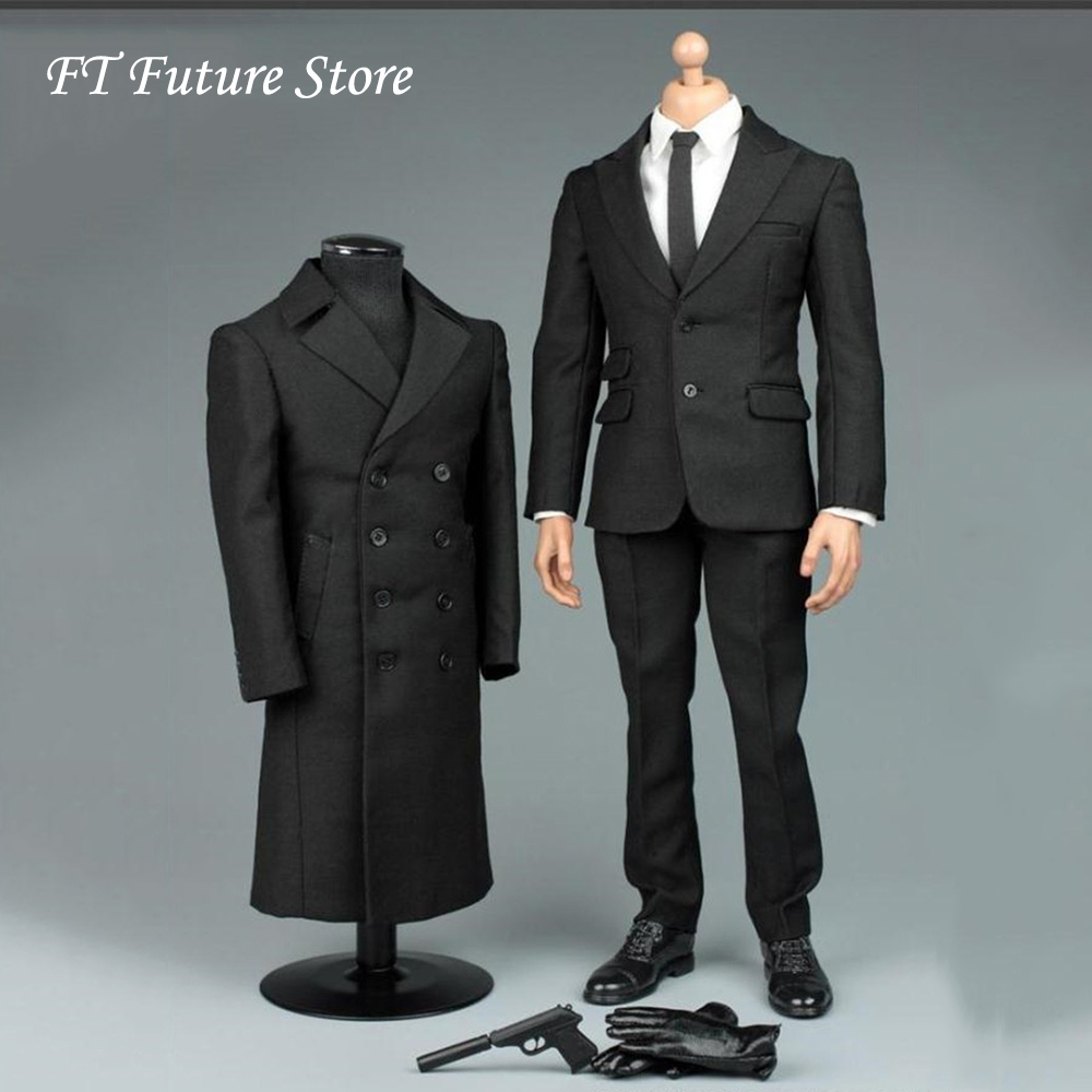 "VORTOYS 1//6 Scale Black Gentleman Suit 2.0 V1005A Fit 12/"" Male Figure Model"