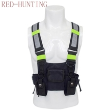 Vest Hunting-Vest-Carrier Radio-Harness Airsoft-Pouch Tactical-Vest Chest-Rig Holster