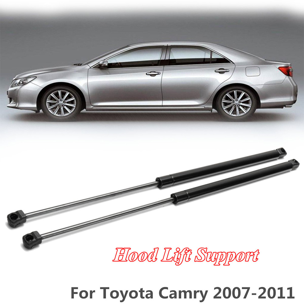 2pcs Front Hood Bonnet Gas Lift Supports Strut Shocks Springs Fit 07-11 Camry