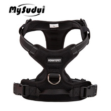Truelove Pet Dog Harness Large Small For Pitbull Reflective Safety Harness For Dogs