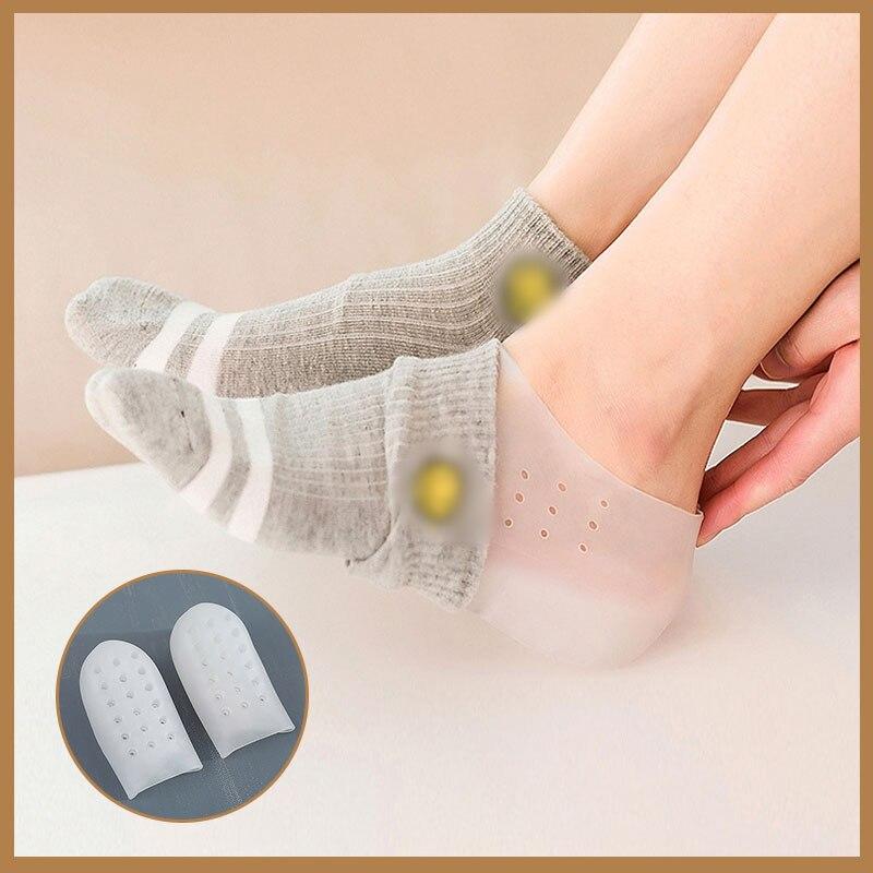 invisibili adatte alluso quotidiano e per proteggere i piedi 1 paio di solette in gel per il tallone per aumentare laltezza