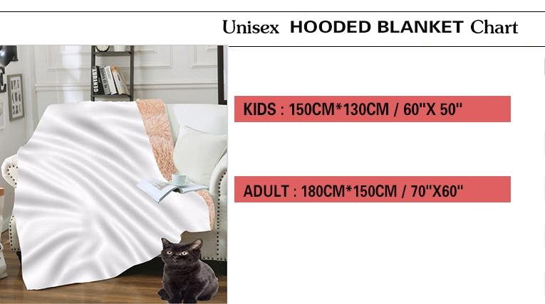 毯子尺码表