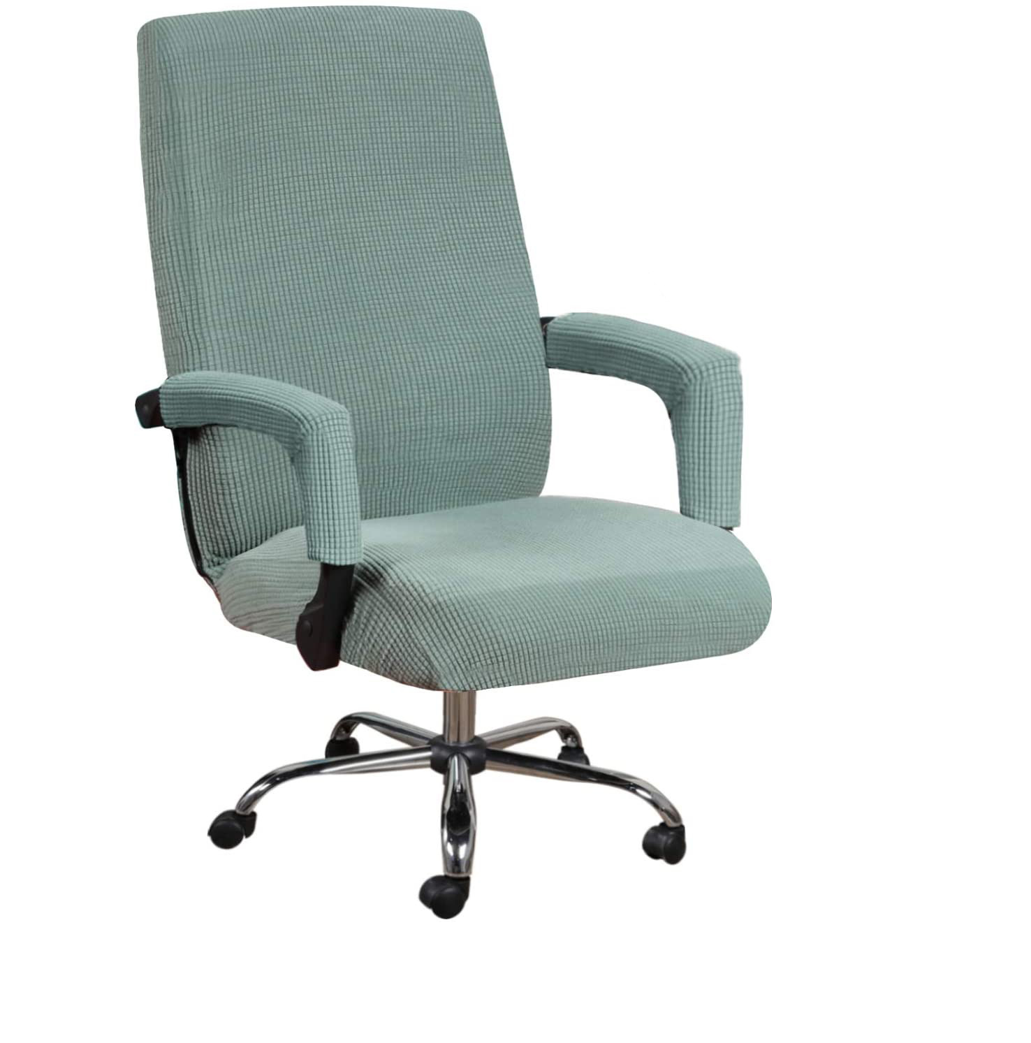 Office Chair Covers Armrest Cover Chairs Protector Trendy Elastic Spandex Solid