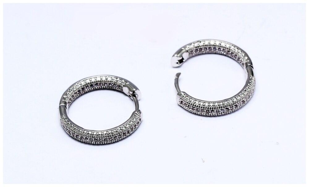 Hoop earrings SE24112 (8)