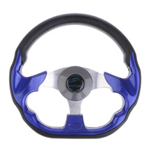Boat-Accessories Steering-Wheel with Soft-Grip Marine-Pesca D-Shape Flat-Bottom Universal