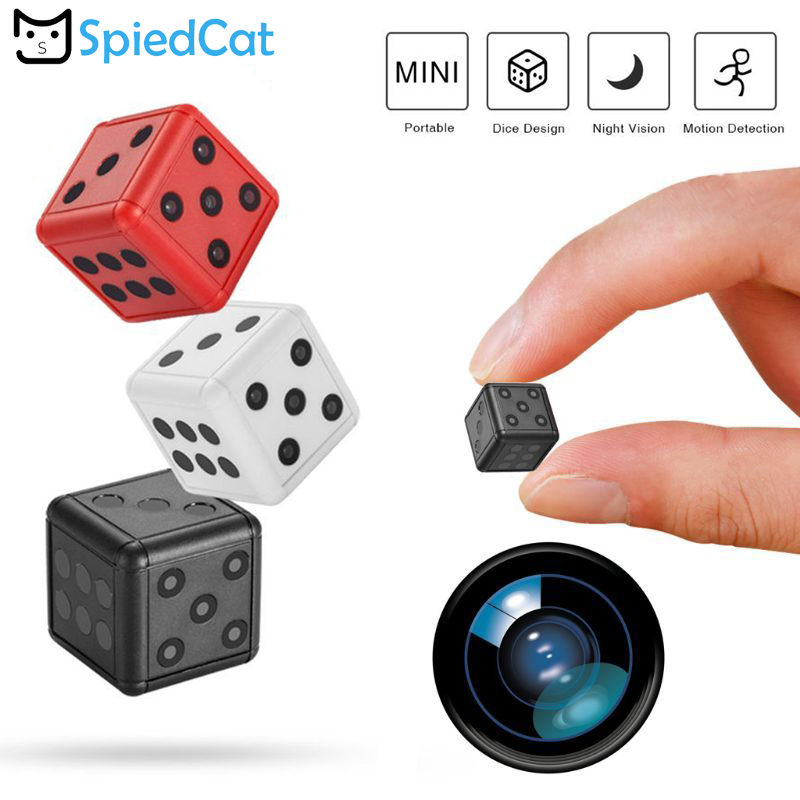 Mini Camera Dice-Action Sport-Dv Motorcycle 1080P for HD Tf-Card title=