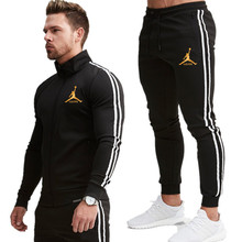 Gym Men Tracksuit-Set Sports-Suits Fitness Jogging Men's Plus-Size Brand Quick-Dry