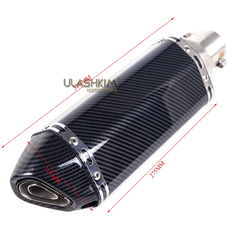 370mm Unviersal Motorcycle Exhaust