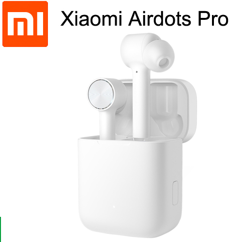 Original Xiaomi Airdots Pro TWS Earphones Bluetooth Headset Stereo Auto Pause ANC Switch ENC Tap Control Wireless Earbuds