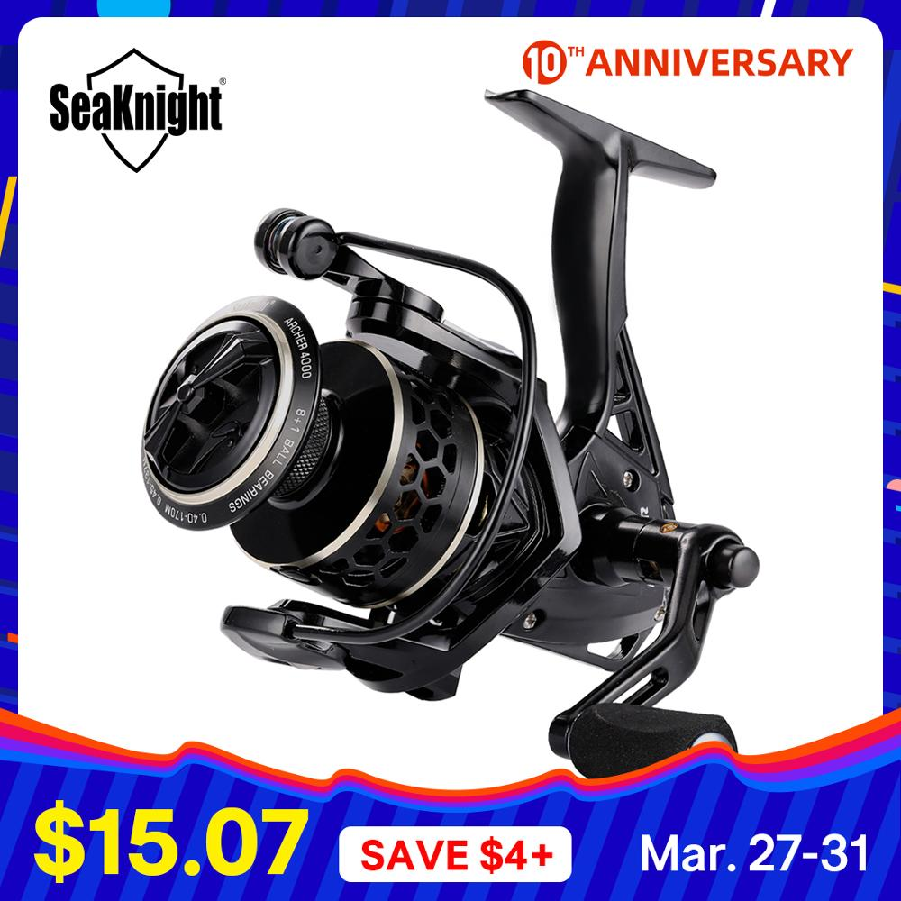 Seaknight Spinning-Reel ARCHER Casting Fishing Drag-Power Max 13KG 2000-6000 title=