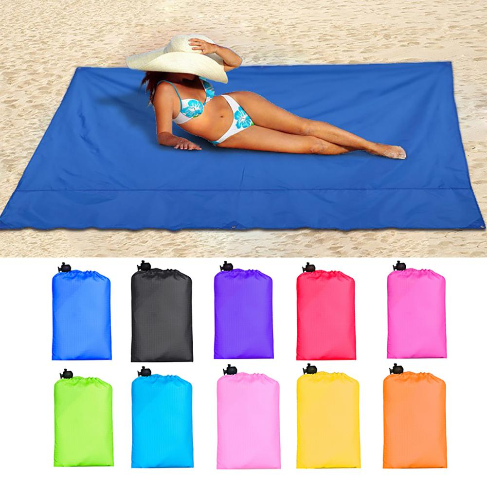 Mat Ground-Cover Sleeping-Mat Sand Beach-Blanket Picnic Waterproof Portable Outdoor Camping title=
