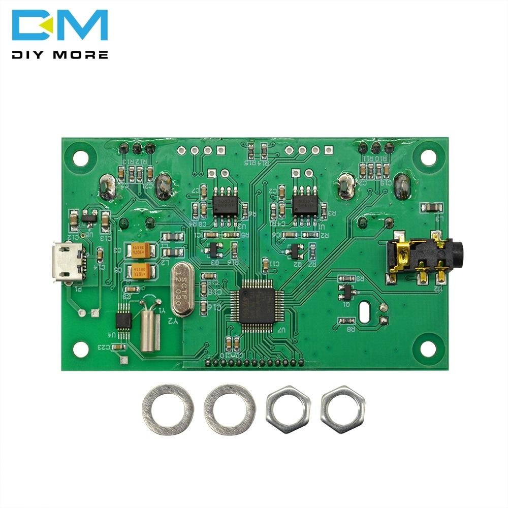 DIY FM Radio Wireless Receiver Module LCD Display DSP PLL 87.0MHz-108.0MHz USA