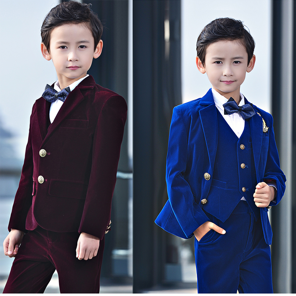 YuanLu Boys Formal Suits Blazer Jacket Coat for Kids