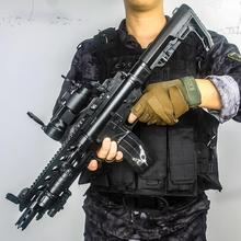 Toy-Gun Weapon Game Shooting Rifle CS Plastic Boys Adult AR Kids Automatic Live for Assembled