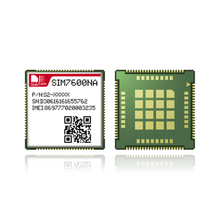 SIMCOM LTE CAT1 Module LCC + посылка GA package LTE-FDD B2/B4/B5/B12/B13/B14/B25/B26/B66/B71/B41 AT command совместимый SIM7600 SIM7500