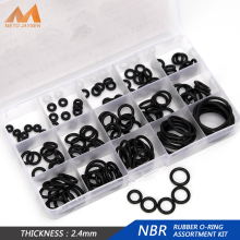 150PCS/SET PCP Paintball NBR Rubber Sealing O-rings 15 Sizes OD 6mm-30mm CS 1.9mm 2.4mm 3.1mm Gasket Replacements DQ007