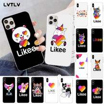 Чехол для телефона LVTLV, модный Likee cat bear love heart, чехол для iPhone 11 pro XS MAX 8 7 6 6S Plus X 5S SE 2020 XR, чехлы(Китай)