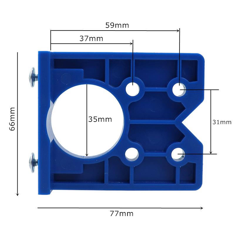 Bohrer xi4 Küchenschrank Türen Versteckt Scharnier Bohrschablone Bohren Jig f