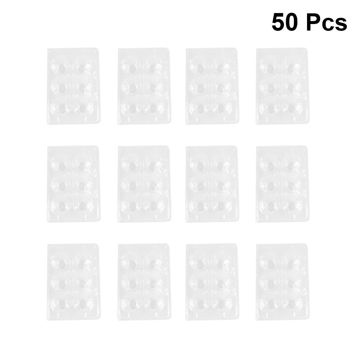 50 Pcs Quail Egg Storage Box Plastic Egg Dispenser Storage for Home Kitchen