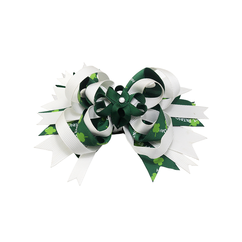 10PCS Infant Baby Girls Bow Knot Flower Hairband Hair Accessories Set Barrett A2