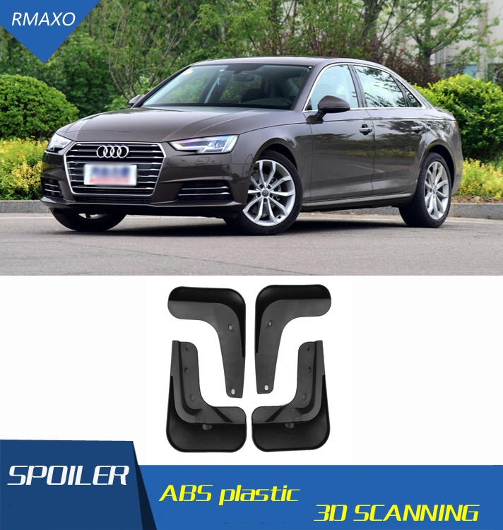 4x Front and Rear Mud Guards Mud Flap Full Set for Audi A6/4//°F C6/ AVANT