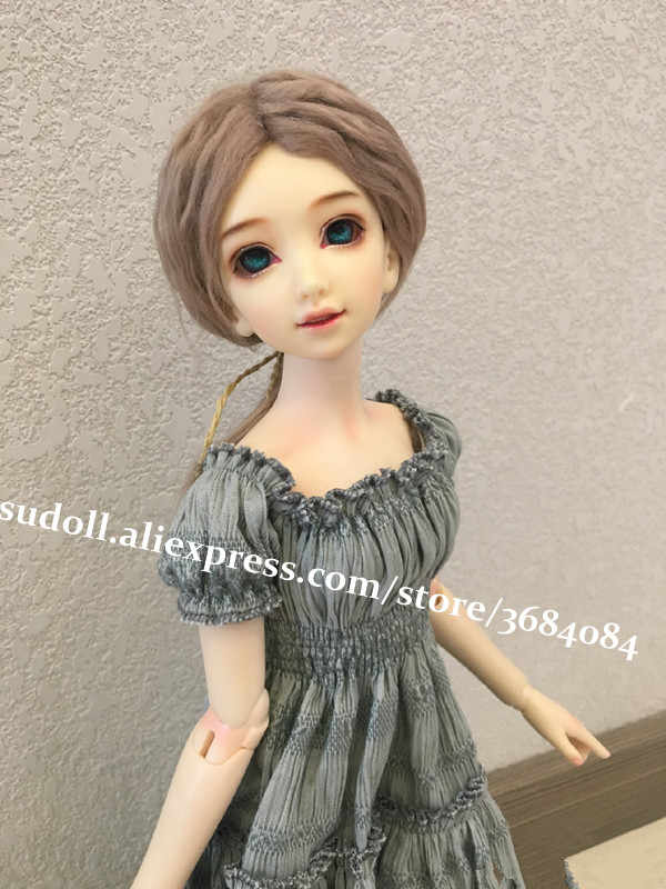 BJD 1//3 Doll Nice Girl Free Eyes+Face up Resin Figure Toys Gift Handmade