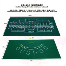 Game-Mat Poker-Table-Layout S-Blackjack Texas-Hold'em Cloth 1pc Roulette Fabrics Non-Woven