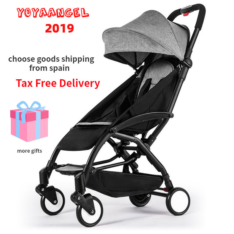 5.8kg lightweight baby stroller portable baby carriage plane travel prams foldable infant trolley strollers footrest rain cover