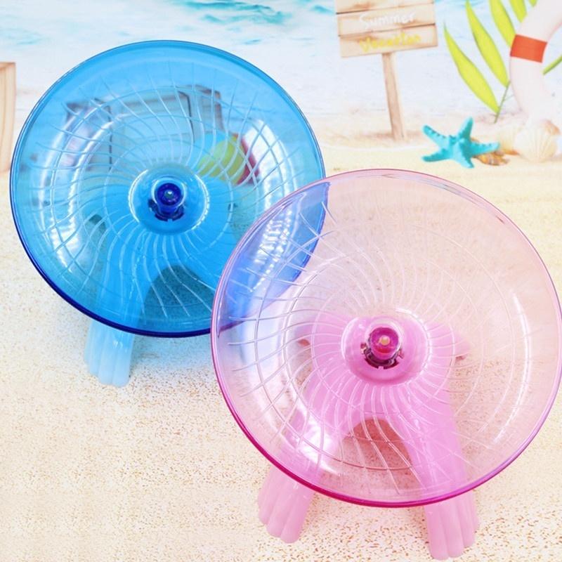 Proglam Pet Toy Disco de h/ámster para Correr para Mascotas Rueda Deportiva platillo Volador