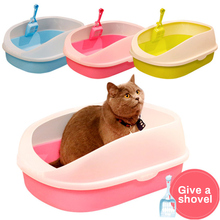 Litter-Box Sandbox Dog-Tray Dog Toilet Anti-Splash-Toilette Cat Home with Puppy Indoor