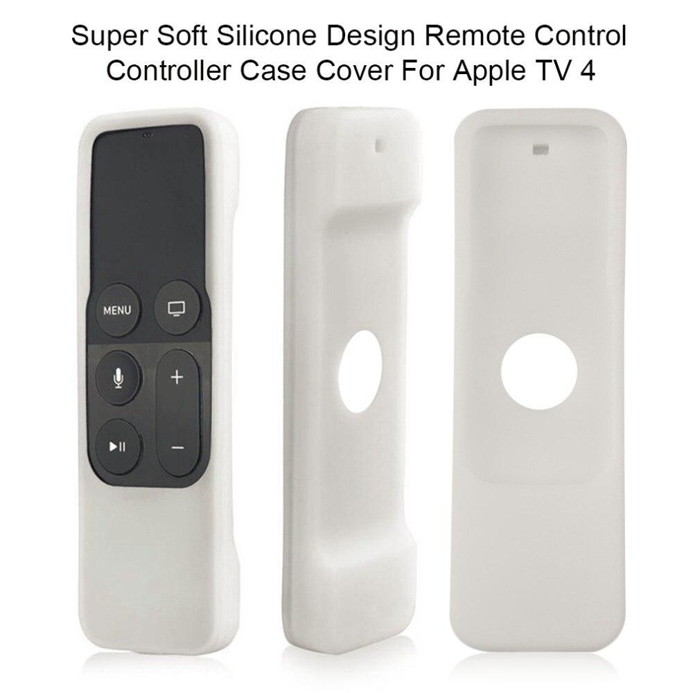 Super Soft Silicone Design Remote Control Controller Case Cover For Apple TV 4