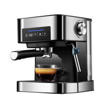 1.5L 220V Espresso Coffee Maker Machine 20Bar Coffee Machine Semi-automatic Household Italian Coffee Maker With Steam Function