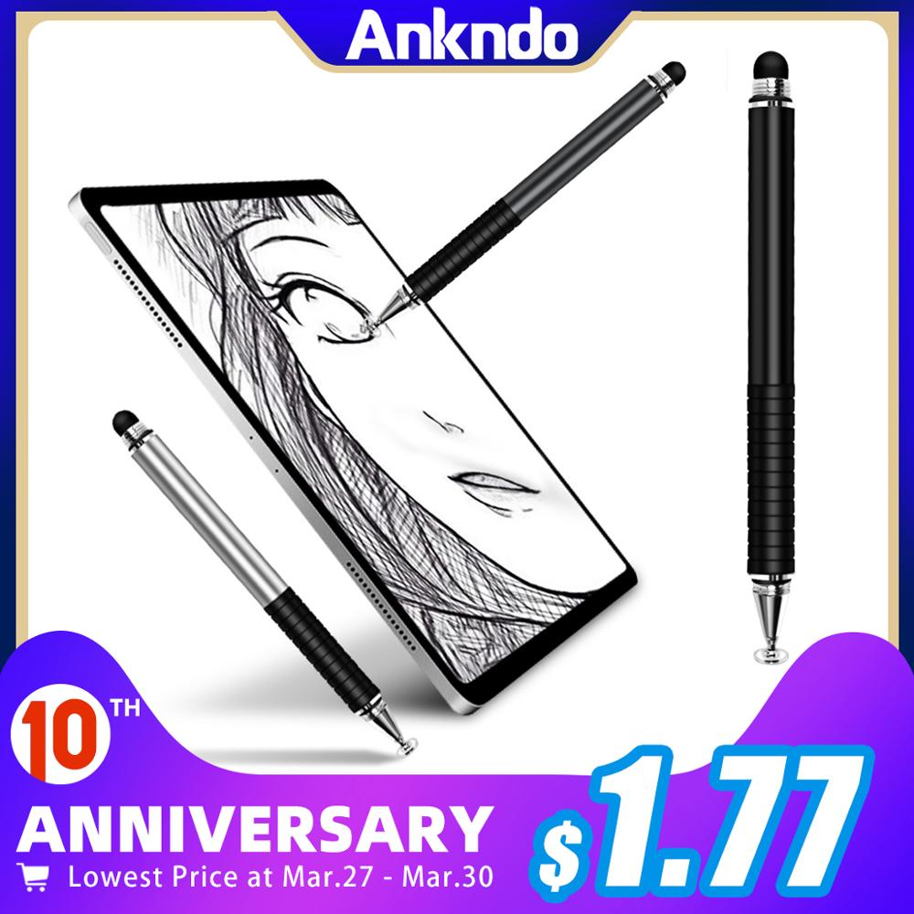 Drawing Tablet Pens Stylus Smart-Pen-Accessories Touch-Pen Capacitive-Screen Caneta Mobile title=